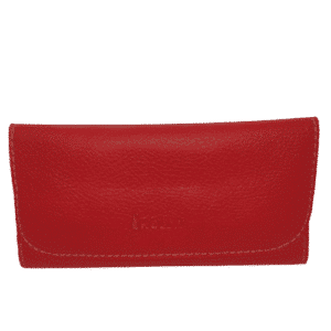 rollit ontario red no4 pu leather tobacco pouch