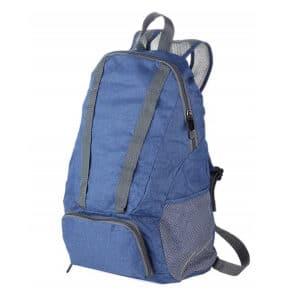 TROIKA – Backpack Foldable BagPack Dark Blue RUC01/DB