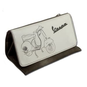 vespa tobacco pouch with magnets