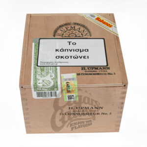 h. upmann connoisseur no.2, cigarbox