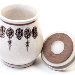 κεραμικό βάζο καπνού πίπας