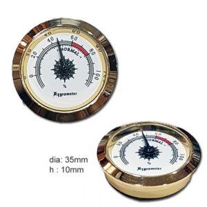 χρυσαφί αναλογικό υγρόμετρο