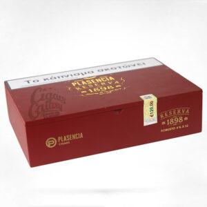 PLASENCIA - Reserva 1898 Robusto, cigarbox